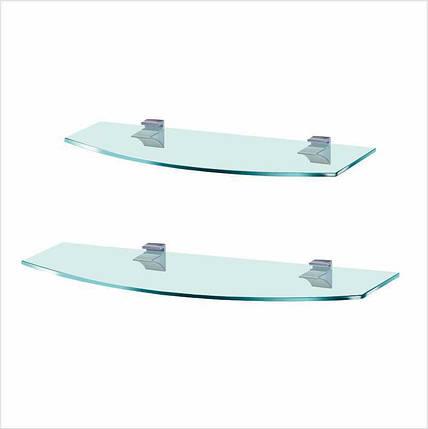 Комплект стеклянных полок Commus PL K 6R/7R/Laz (лазурный), фото 2
