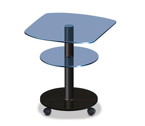 Стол журнальный  Kv blue_bl50_венге, фото 2