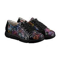 VM-Villomi Черные кроссовки с цветочным принтом