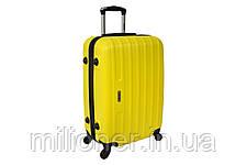 Чемодан Siker Line набор 4 штуки желтый, фото 3