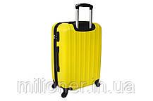Чемодан Siker Line набор 3 штуки желтый, фото 2
