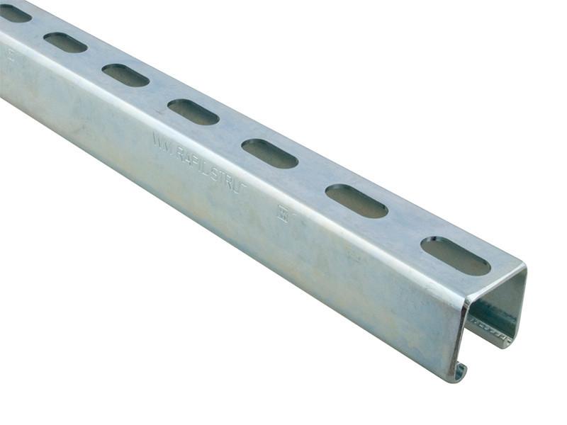 Профиль монтажный перфорированный Walraven 41х21х2.5 мм по 3 м