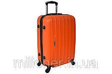 Чемодан Siker Line набор 3 штуки оранжевый, фото 3