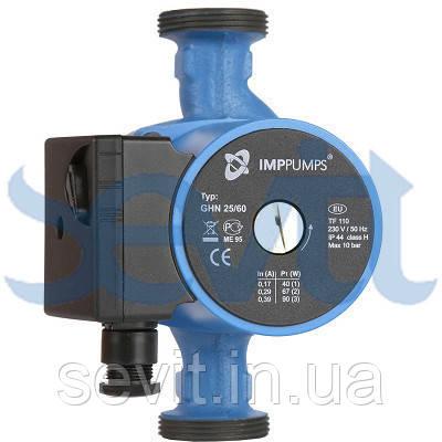 Циркуляционный насос c мокрым ротором IMP PUMPS (Словения) трехскоростной резьбовой серии GHN 32/65-180