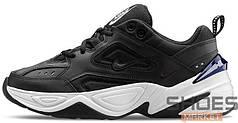 Женские кроссовки Nike M2K Tekno (Black / Black - Off White - Obsidian)
