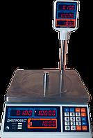Весы  торговые со стойкой  ВТД-Т2 СВ- 6 кг.