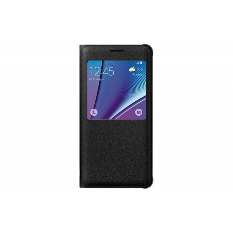 Чехол-книжка Samsung S View Cover для Samsung Galaxy S7 \ black