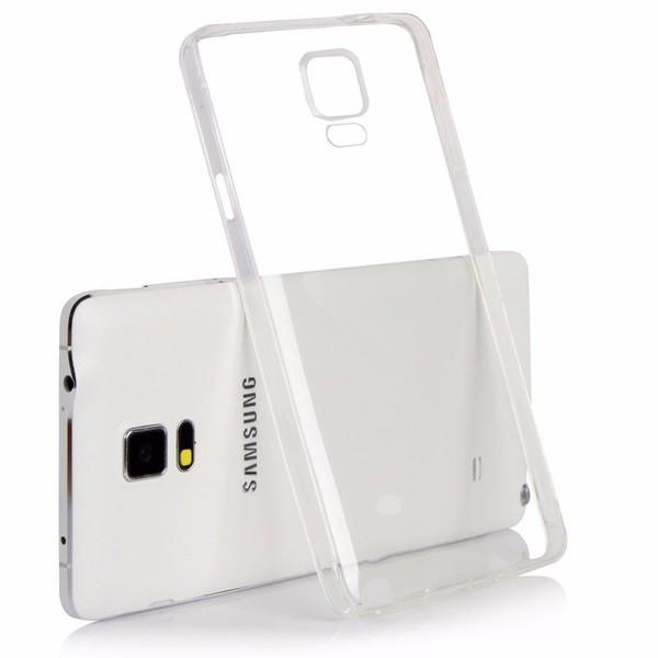 Ультратонкий силиконовый чехол 0,3 мм для Samsung Galaxy Note 4 Edge N9150