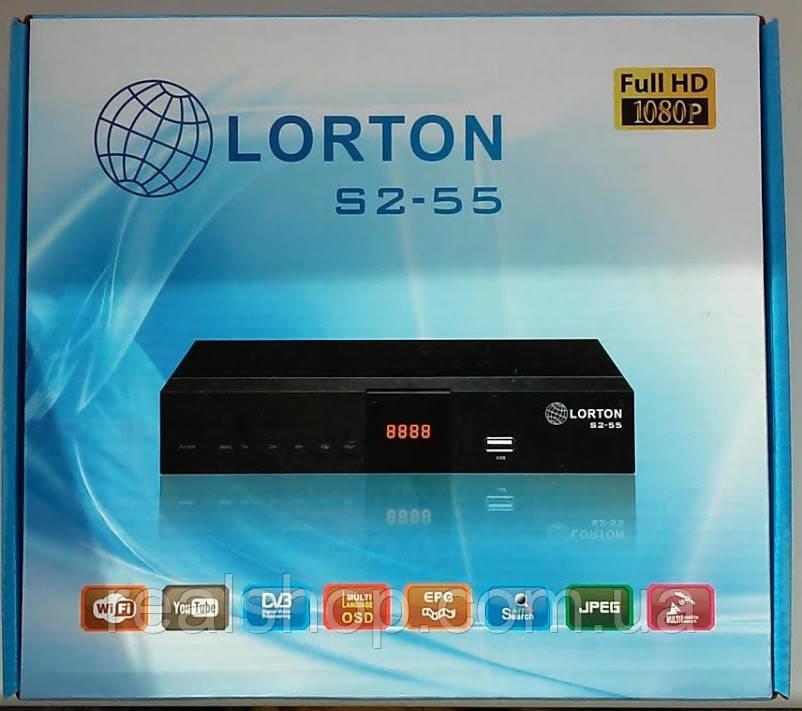 LORTON s2-55 HD ресивер  + бесплатная прошивка!