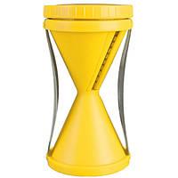 🔝 Овощерезка спиральная Spiral Slicer - желтая, терка для для овощей с доставкой по Киеву и Украине | 🎁%🚚