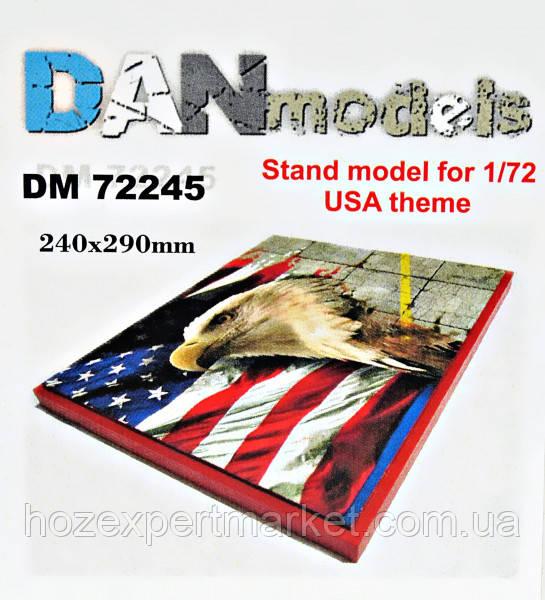 Подставка для моделей. Тема: США (240x290 мм)