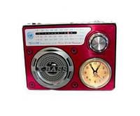 Радио колонка часы MP3 Golon RX-722LED Red