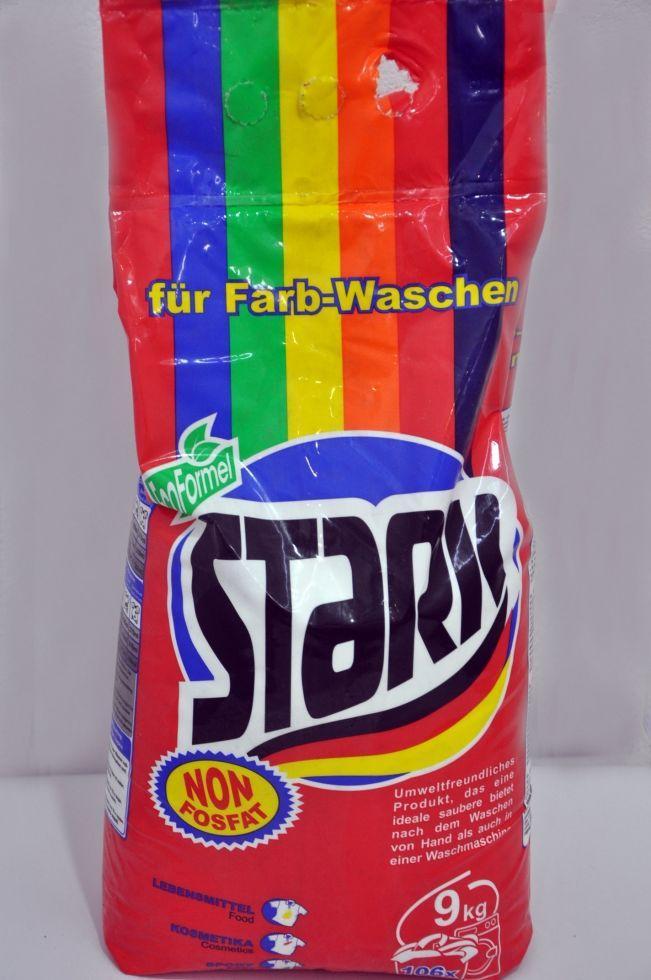 Stark пральний порошок д/кольорового 9000гр*6
