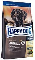 Cухой корм Happy Dog Supreme Canada  для взрослых собак с мясом лосося, кролика, ягненка 1 кг.