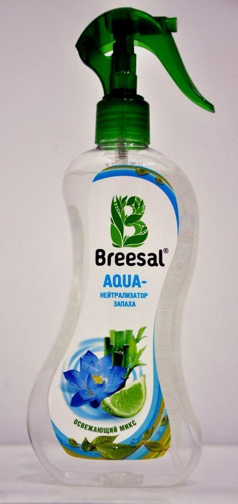 Breesal Agua нейтралізатор запаху 'Освіжаючий мікс'