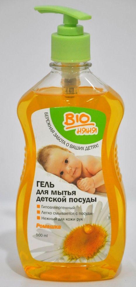 Гель д/миття дитячого посуду Ромашка *20