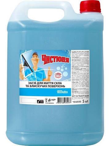 Засіб для миття скла 5л Чистюня, фото 2