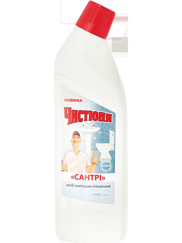 Засіб санітарно-гігієнічний САНТРІхлор 1л Чистюня