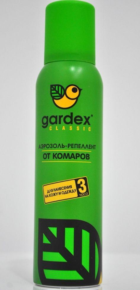 Gardex  Classic аерозоль-репеллент від комарів