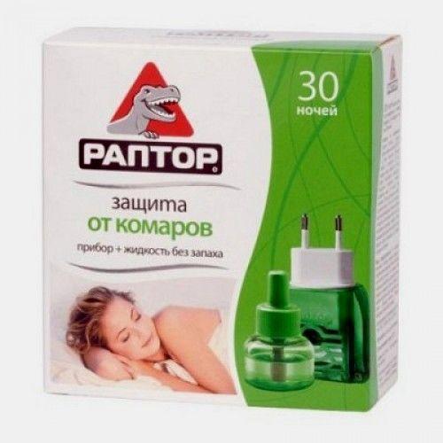 РАПТОР  Комплект (прилад+ліквід 30 ночей СТАНДАРТ) NEW