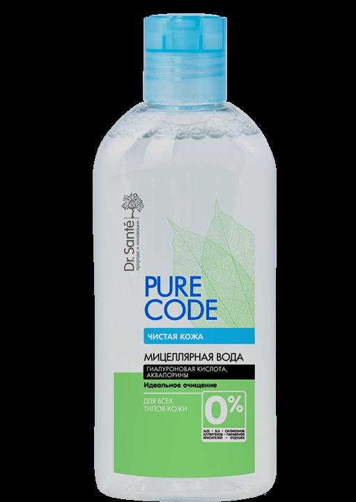 Міцелярна вода для всіх типів шкіри 500мл Pure Code *6