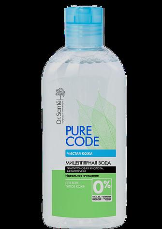 Міцелярна вода для всіх типів шкіри 500мл Pure Code *6, фото 2