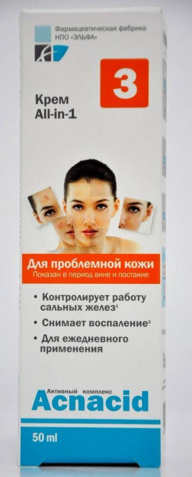 Крем all-in-1 50мл Acnacid*24