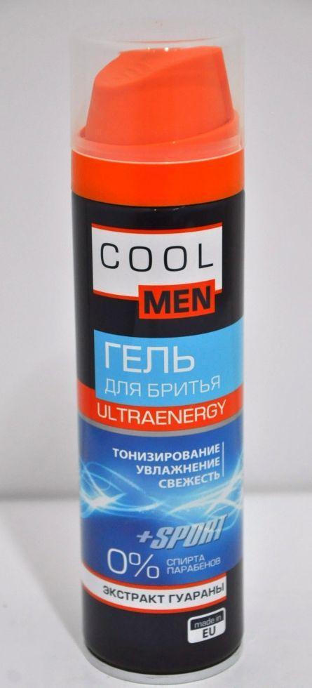 Ultraenergy гель для гоління 200мл СМ