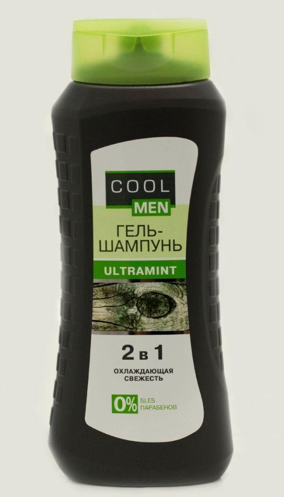ULTRAMINT Гель-шампунь  миндаль 250мл CM
