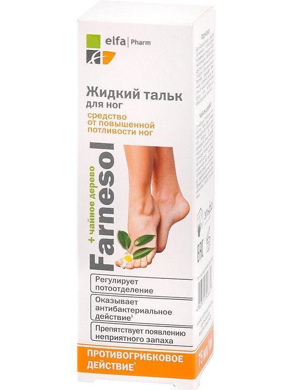 Ельфа Farnesol Рідкий тальк для ніг