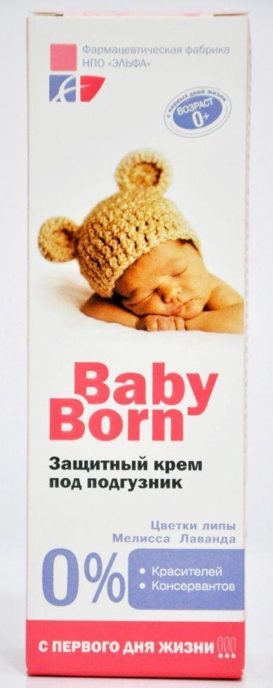 'Ельфа' BabyBorn Захисний крем під підгузник