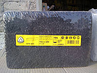 Нетканный абразивный материал скотчбрайт NPA400 Klingspor (152х229мм)SIGA, medium, чёрный, SIC, p150-180