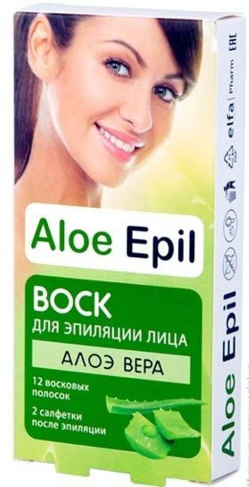 Віск для епіляції обличчя Aloe Epil