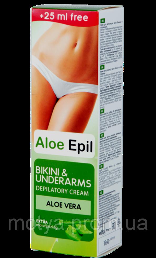 Крем для депіляції зони бікіні і під пах Aloe Epil