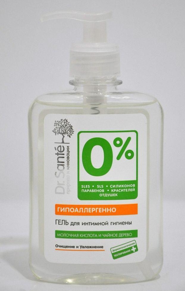 Гель для інтимної гігієни 250мл Dr.Sante 0%*8