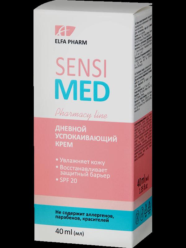 Денний заспокійливий крем Sensi Med