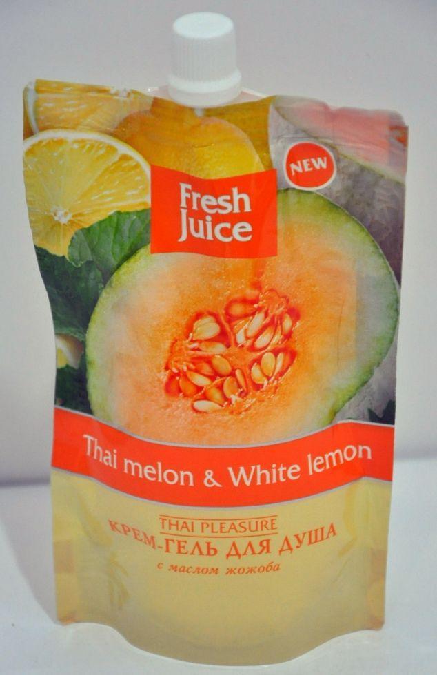 Гель д/душу дой-пак Thai melon&White