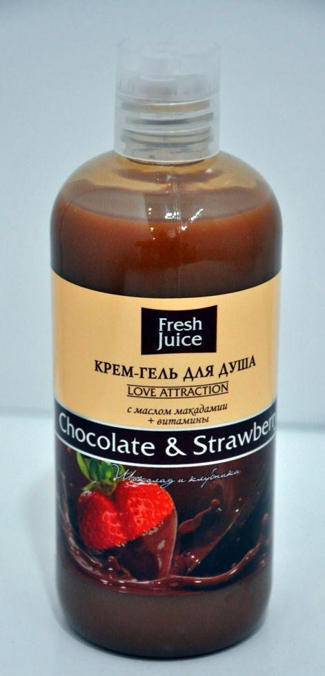 ГЕЛЬ 500  д/душу Chocolate&Strawberry FJ