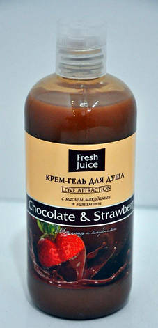 ГЕЛЬ 500  д/душу Chocolate&Strawberry FJ, фото 2