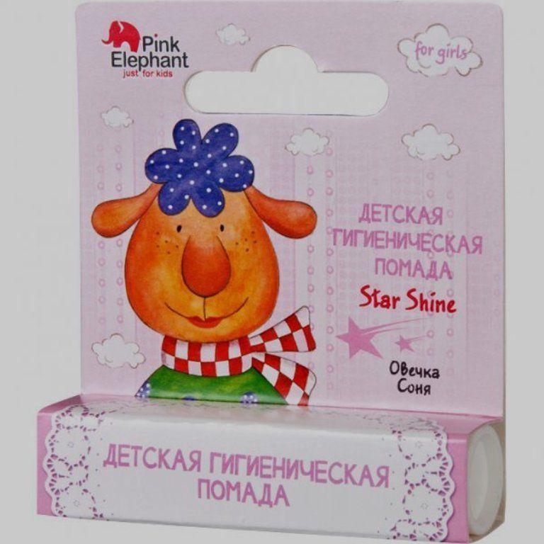 Помада Star shine Овечка Соня PINK ELEPHANT
