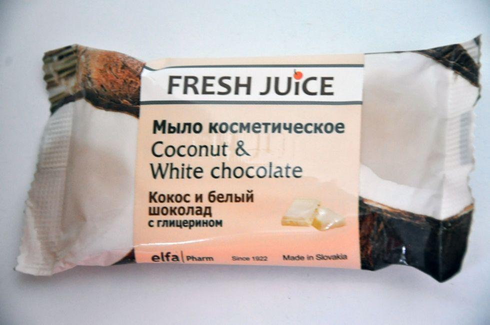 Fresh Juice Мило космет. Coconut & White Chocolate