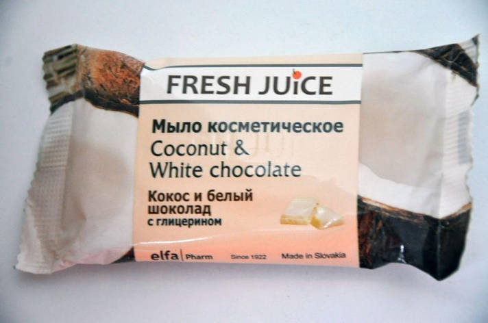 Fresh Juice Мило космет. Coconut & White Chocolate, фото 2