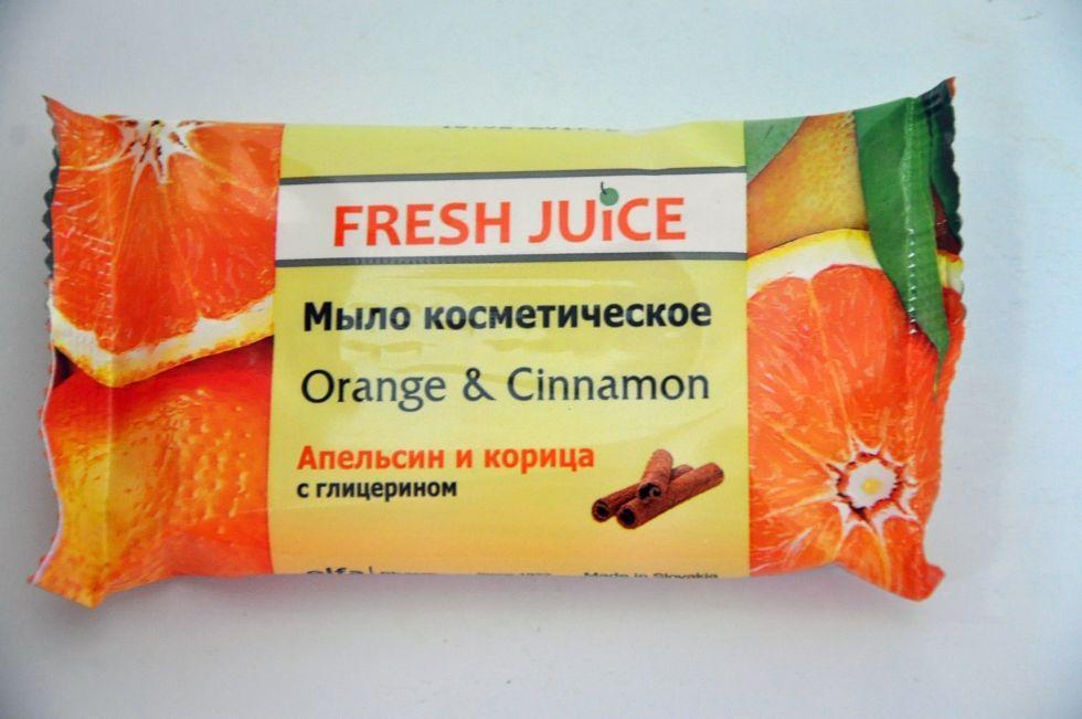 Мило космет. Orange & Cinnamon 75гр  FJ