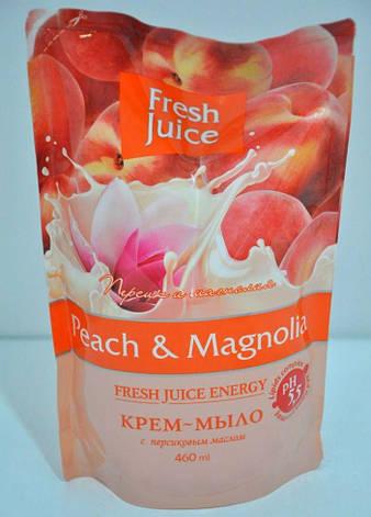 Рідке мило дой-пак Peach (персик) 460мл FJ, фото 2