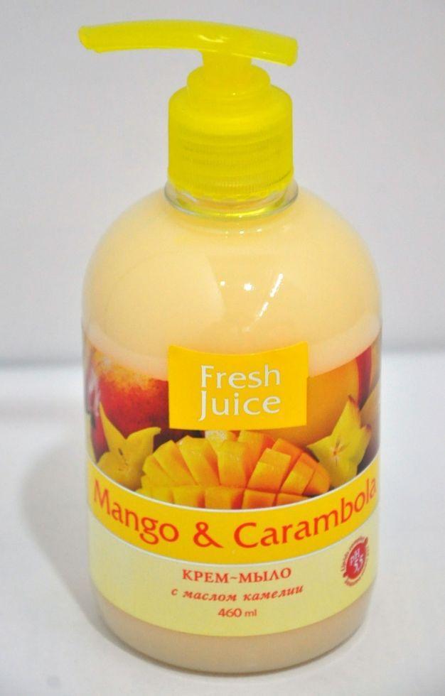 Рідке мило  Mango&Carambola камелия 460мл FJ