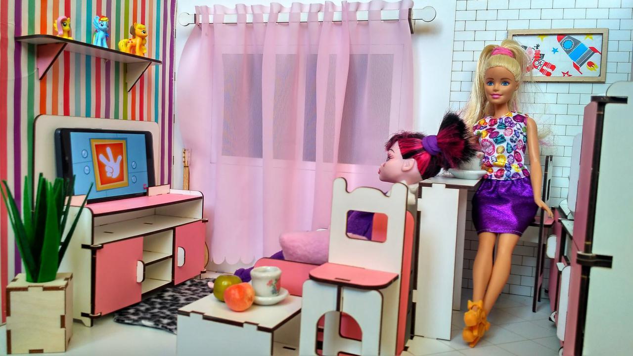 7001ROOMBOX №1 Квартира-студия с мебелью + обои + шторы