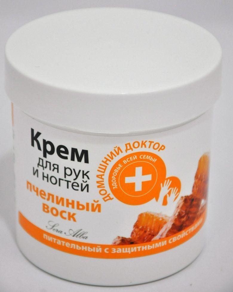 Крем для рук і нігтів Бджолиний віск 250мл ДД