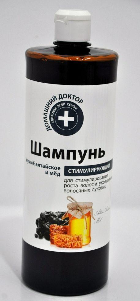 Шaмпунь Мумійо алтайське і мед 1л  ДД