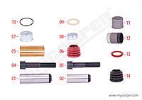 Ремкомплект направляющих суппорта KNORR SB6/SB7 SCANIA 1906779