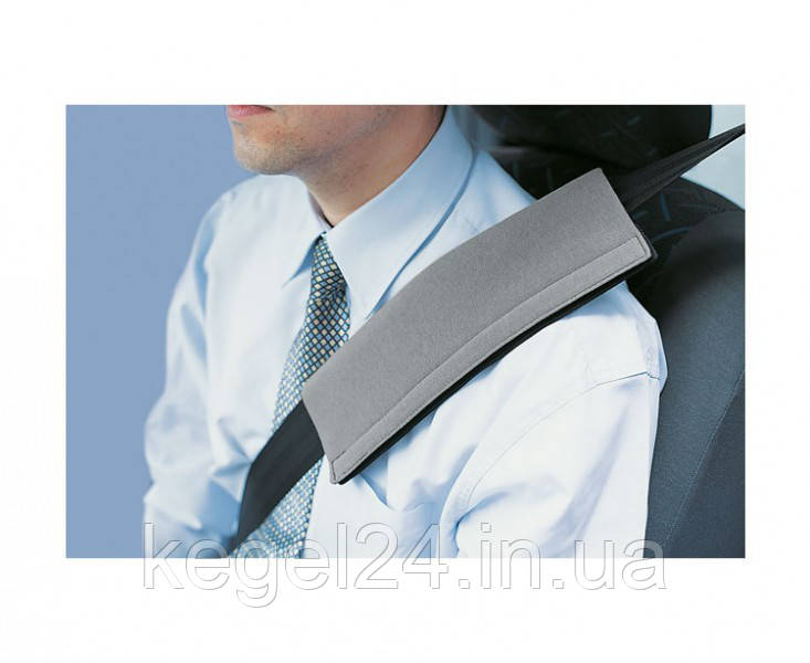 Подушка на ремень безопасности, серая, размер универсальный, 1шт. ОРИГИНАЛ! Официальная ГАРАНТИЯ!